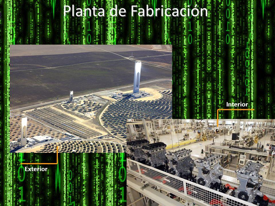 Planta de Fabricación Interior Exterior