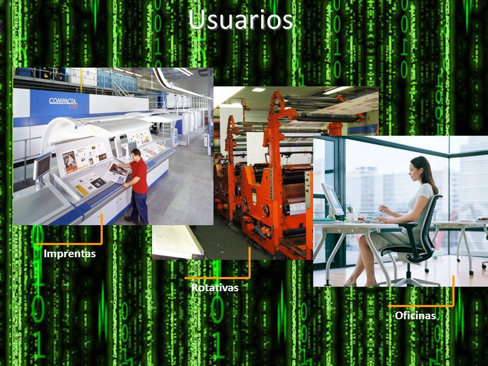 Usuarios Imprentas Rotativas Oficinas