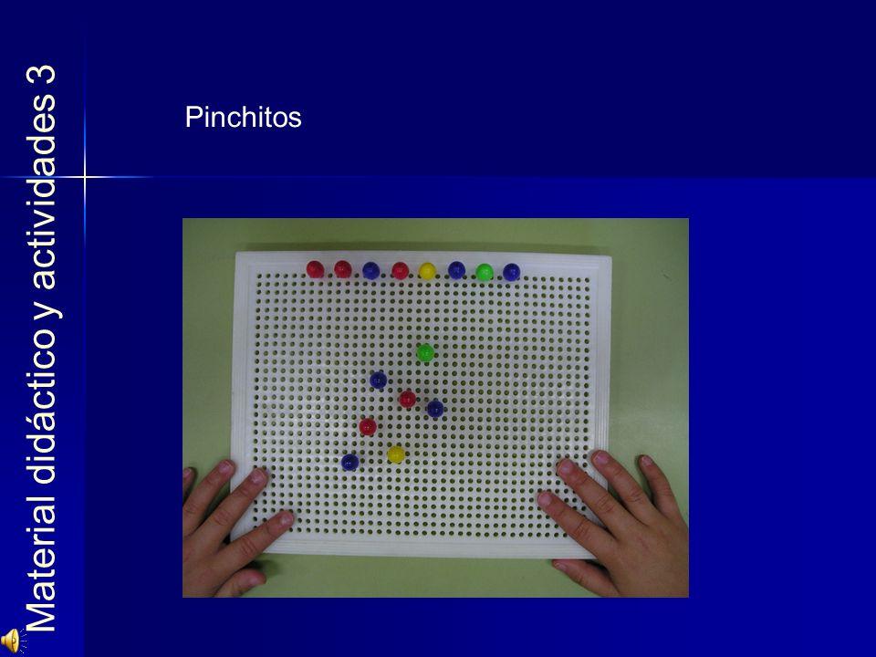 Material didáctico y actividades 3 Pinchitos