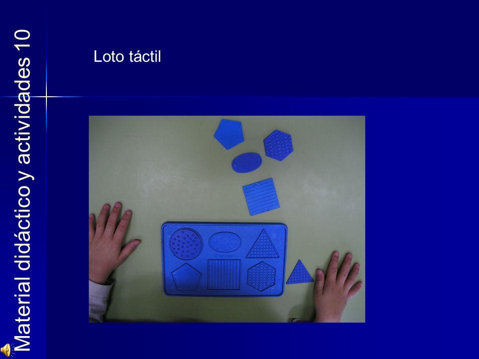 Material didáctico y actividades 10 Loto táctil