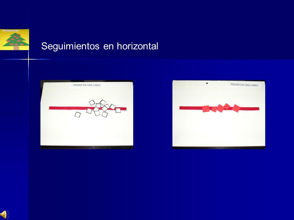 Seguimientos en horizontal
