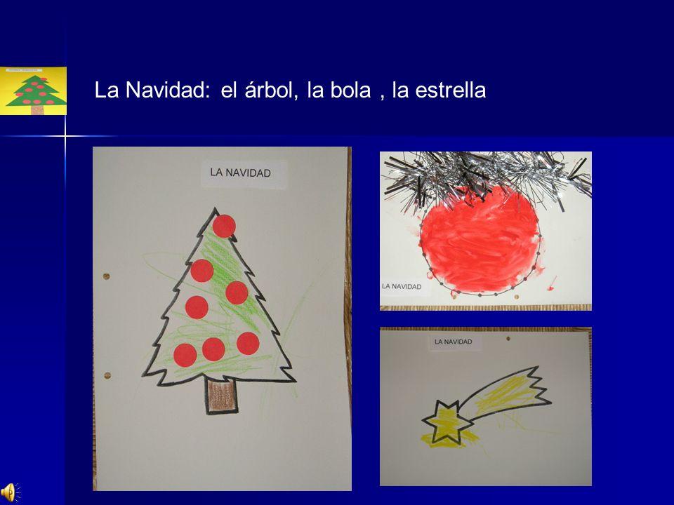 La Navidad: el árbol, la bola, la estrella