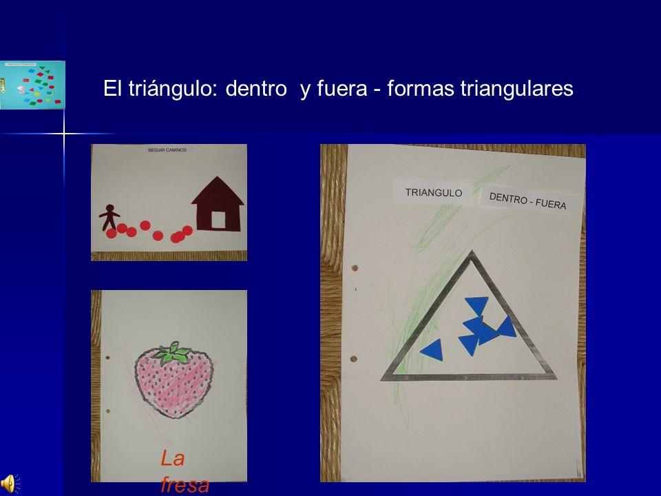 La fresa El triángulo: dentro y fuera - formas triangulares