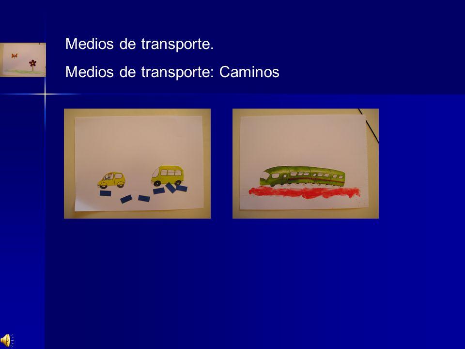 Medios de transporte. Medios de transporte: Caminos