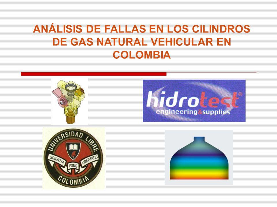 ANÁLISIS DE FALLAS EN LOS CILINDROS DE GAS NATURAL VEHICULAR EN COLOMBIA