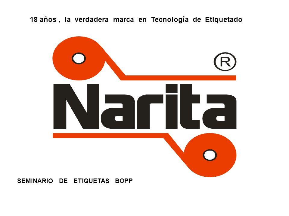 SEMINARIO DE ETIQUETAS BOPP 18 años, la verdadera marca en Tecnología de Etiquetado