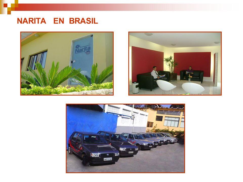 NARITA EN BRASIL