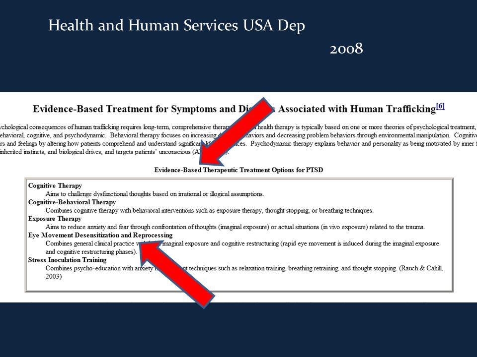 2008 Health and Human Services USA Dep
