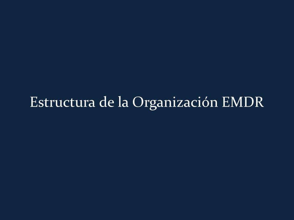 Estructura de la Organización EMDR