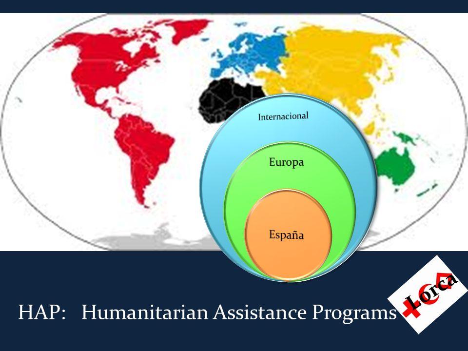HAP: Humanitarian Assistance Programs Lorca