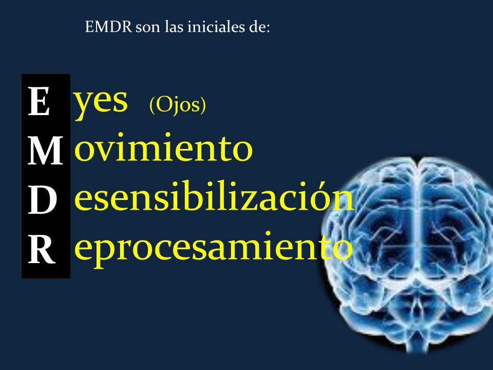 AIP: Adaptative Information Processing Nuestro cerebro es una máquina maravillosa que sabe hacer bien su trabajo (si puede y le dejamos) EMDREMDR Según ese modelo, EMDR facilita el procesamiento de esas memorias hacia otras mejores