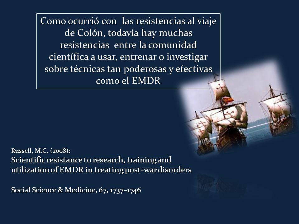 EMDR cuenta con numerosa investigación acerca de su validez.