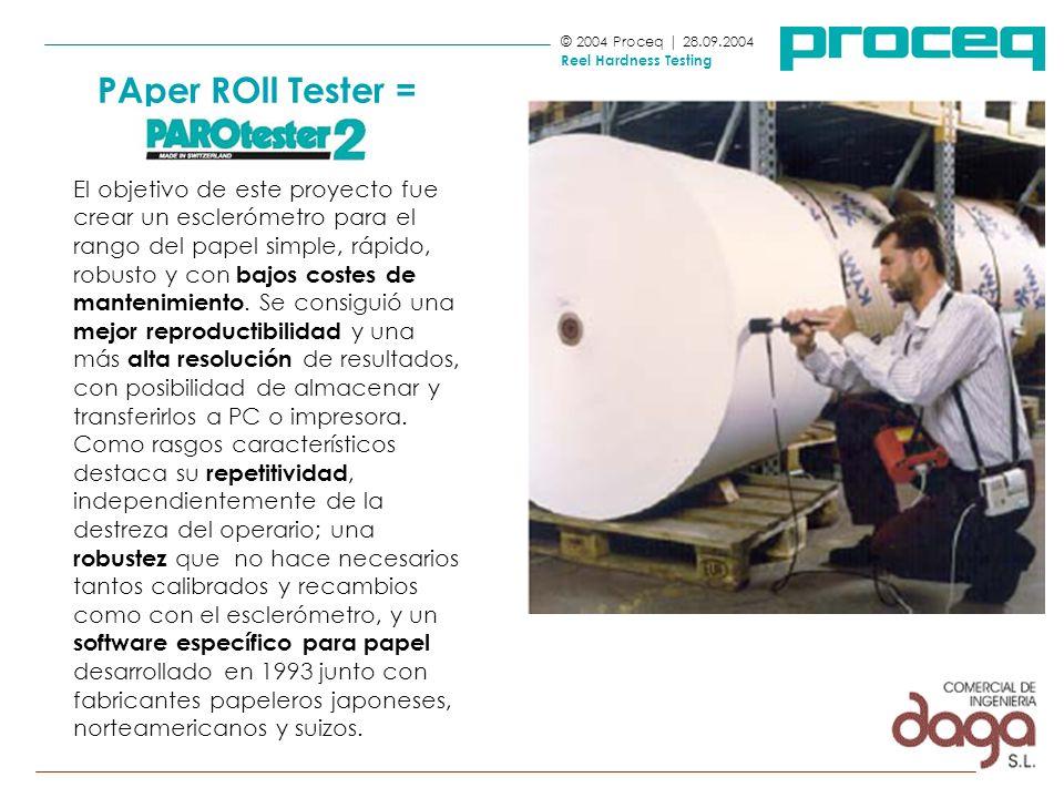 El objetivo de este proyecto fue crear un esclerómetro para el rango del papel simple, rápido, robusto y con bajos costes de mantenimiento. Se consigu