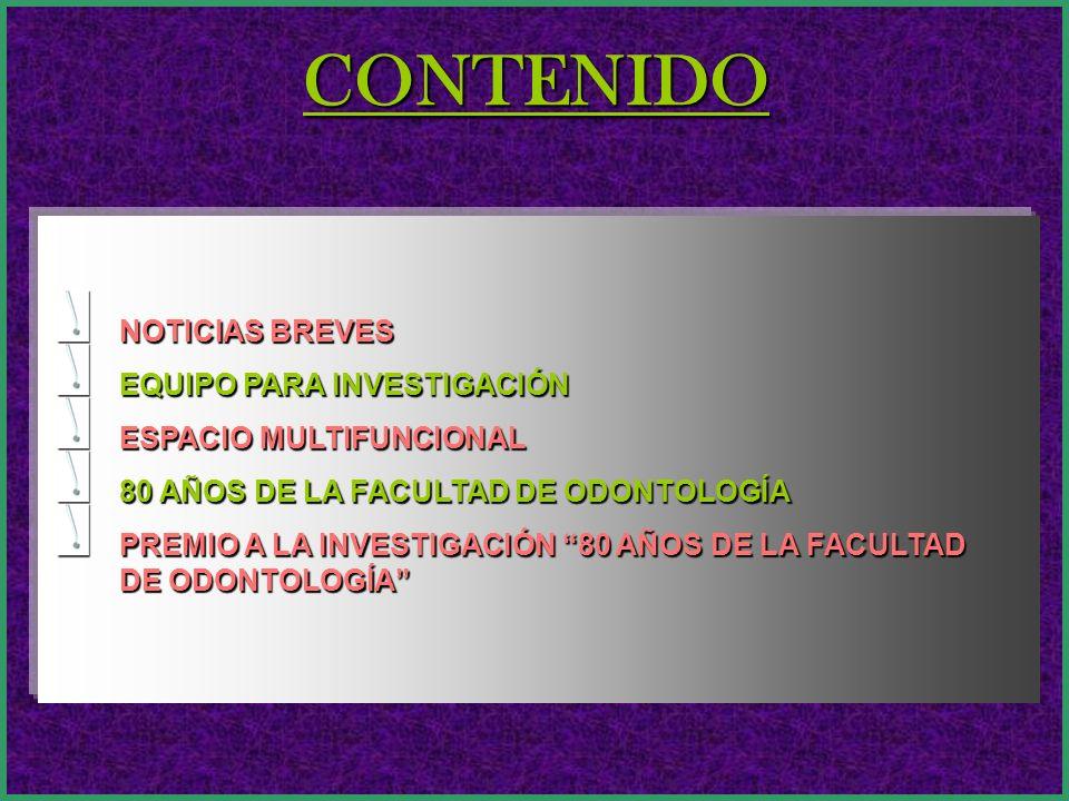 Sum@rio Electrónico Nº 19 Órgano Oficial de Difusión de la Facultad de Odontología Año III.