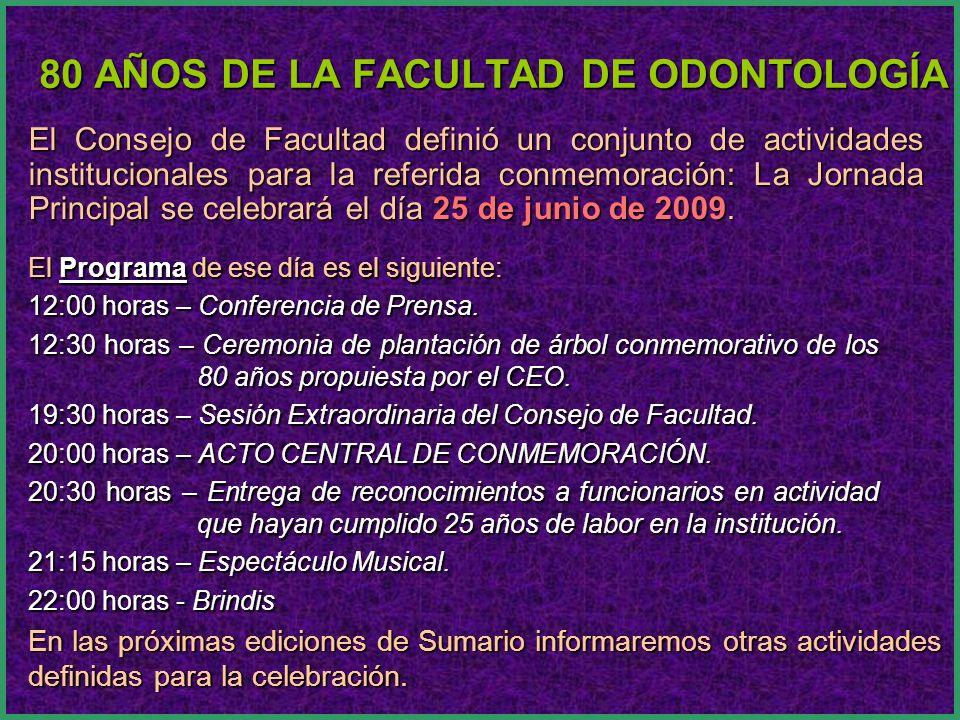 Espacio Multifuncional de la Facultad de Odontología