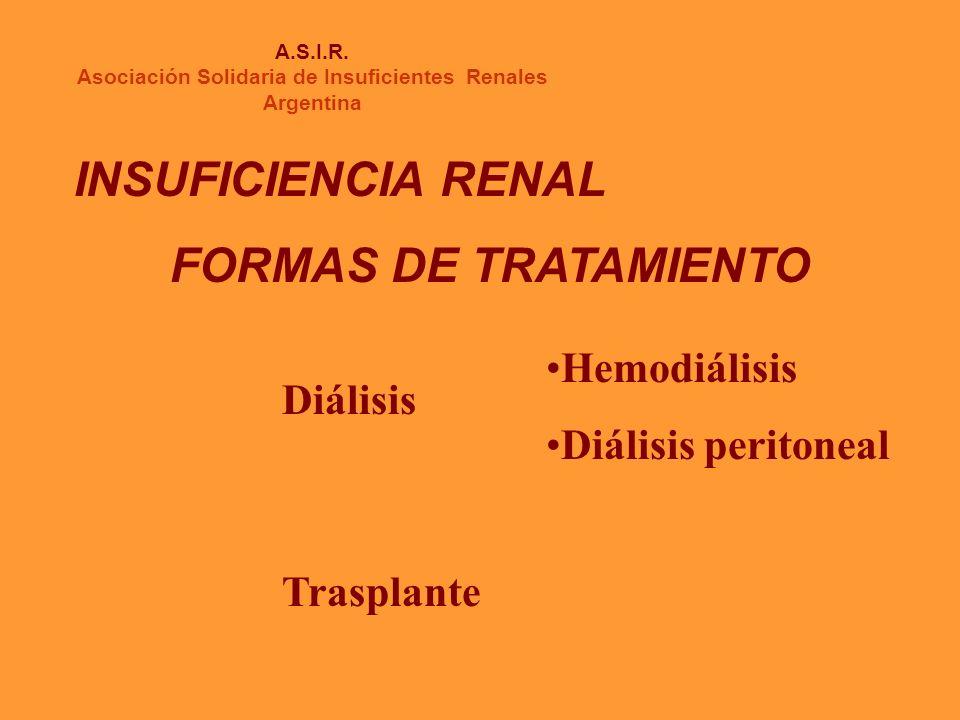 HEMODIALISIS A.S.I.R.