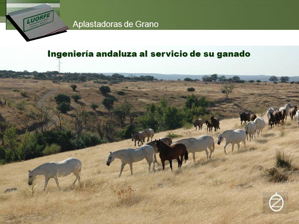 Ingeniería andaluza al servicio de su ganado Aplastadoras de Grano