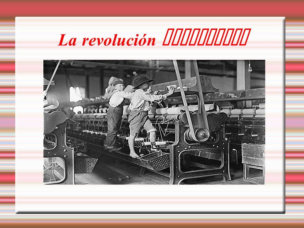 La revolución industrial Título