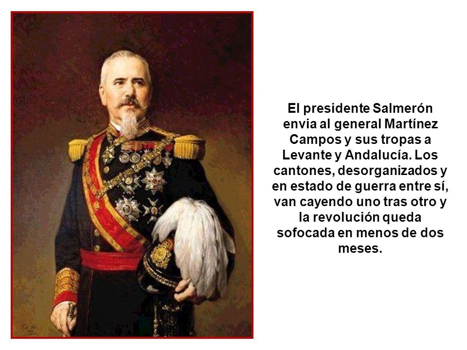 Jerez proyecta su cantón, pero finalmente prefiere rendirse a Madrid antes que someterse a la República Independiente de Cádiz.