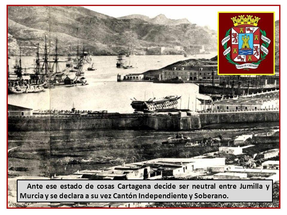 Por un conflicto de intereses, la república independiente de Jumilla amenaza a la también independiente republica de Murcia: