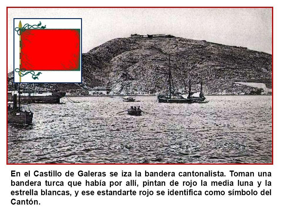 Toman también el control del Arsenal y del puerto, donde estaba amarrada una buena parte de de la Flota española, que se une a la sublevación.
