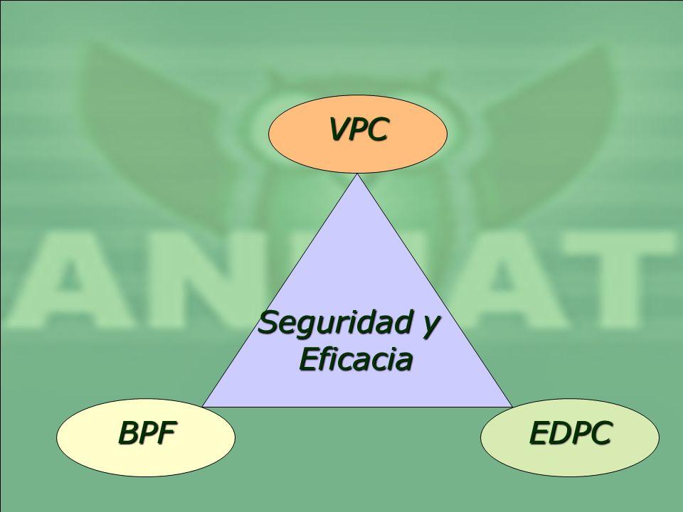 BPF VPC EDPC Seguridad y Eficacia