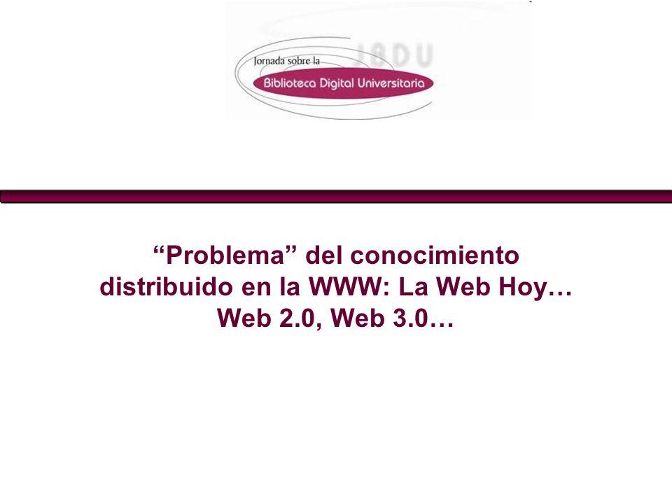 La Web Semántica... Una Web más bibliotecaria DRA. EVA Mª MÉNDEZ RODRÍGUEZ La Web Semántica: un nuevo reto para un mejor acceso DRA. EVA Mª MÉNDEZ ROD
