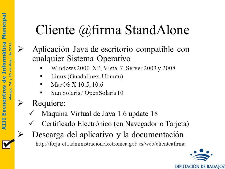 XIII Encuentros de Informática Municipal Alange, 24 y 25 de Mayo de 2012 Aplicación Java de escritorio compatible con cualquier Sistema Operativo Wind