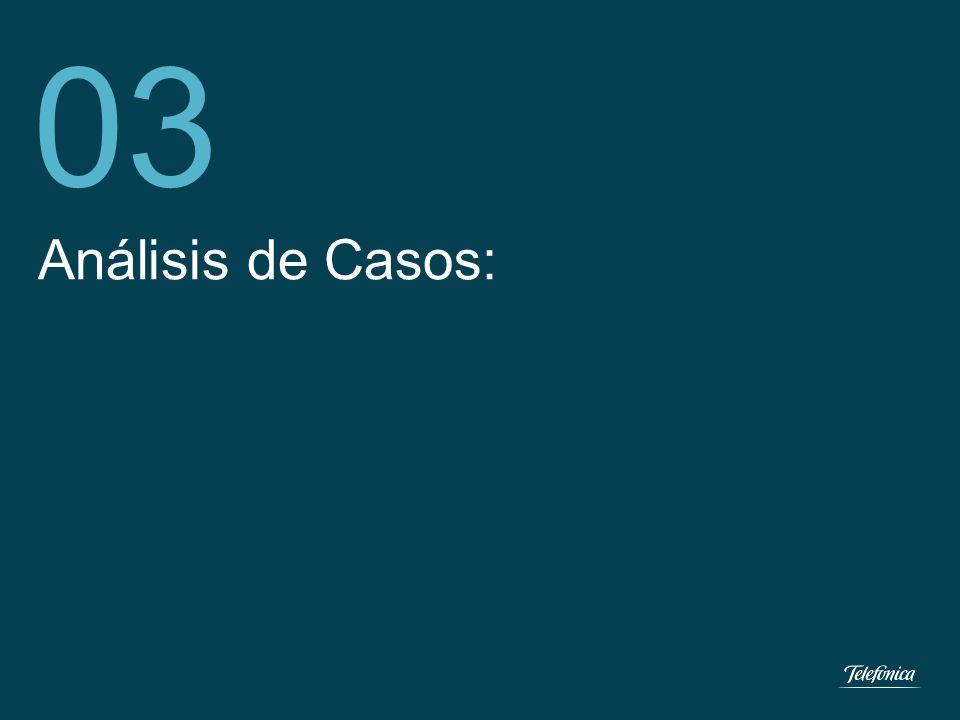 Telefónica del Perú Segmento Empresas 9 Análisis de Casos: 03