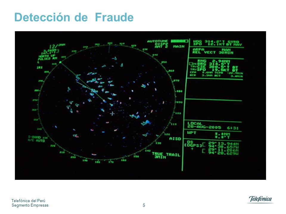 Telefónica del Perú Segmento Empresas 5 Detección de Fraude