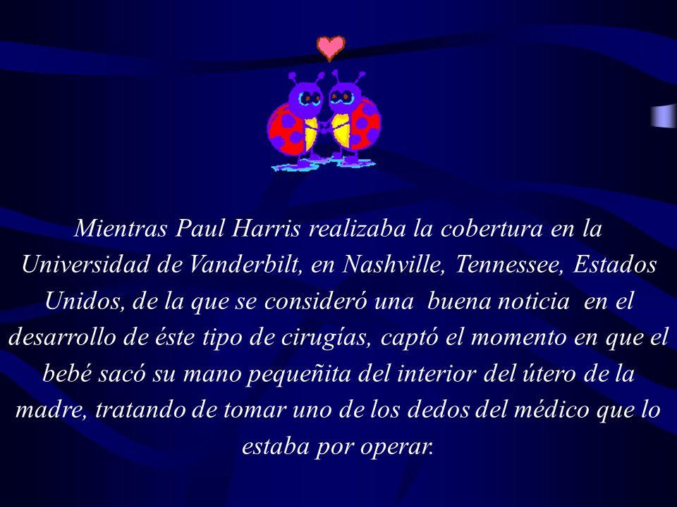 Mientras Paul Harris realizaba la cobertura en la Universidad de Vanderbilt, en Nashville, Tennessee, Estados Unidos, de la que se consideró una buena