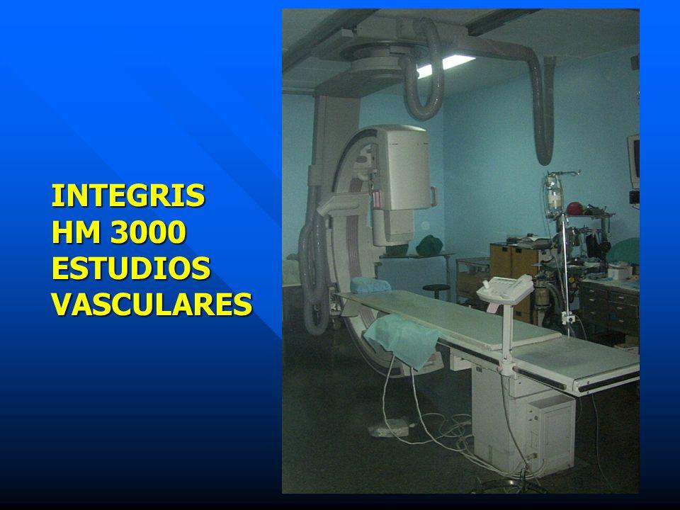 INTEGRIS HM 3000 ESTUDIOSVASCULARES