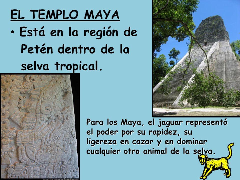 Una cuidad anciana de los Maya.