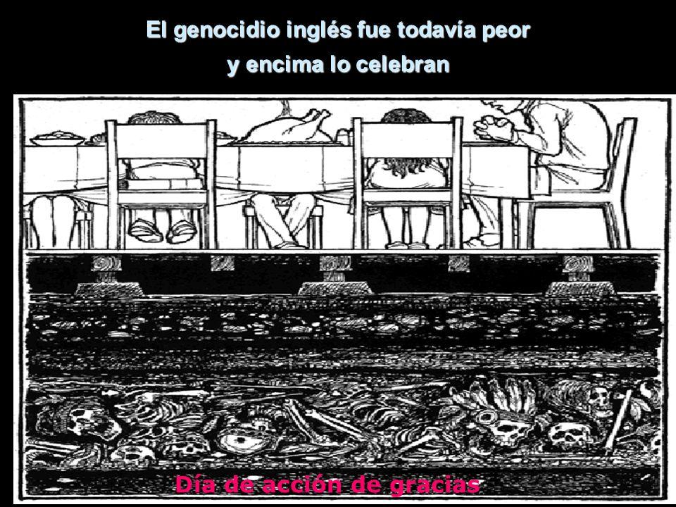 El genocidio inglés fue todavía peor y encima lo celebran Día de acción de gracias