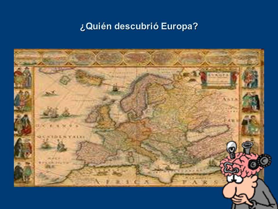 ¿Quién descubrió Europa?