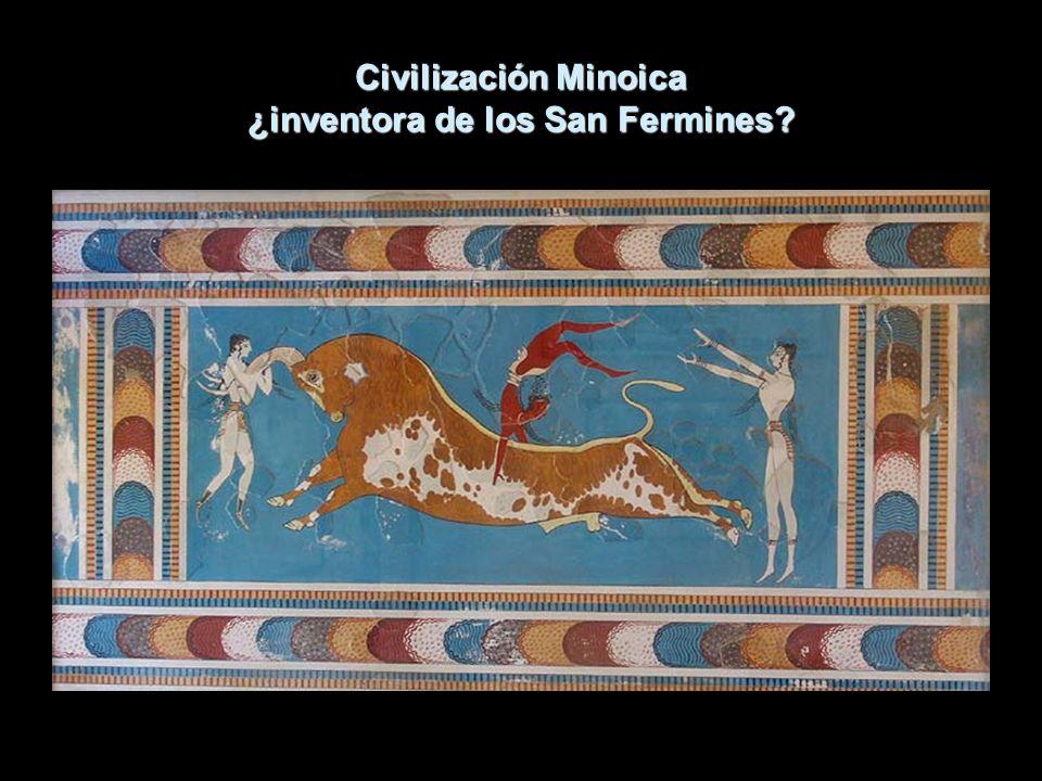 Civilización Minoica ¿inventora de los San Fermines?
