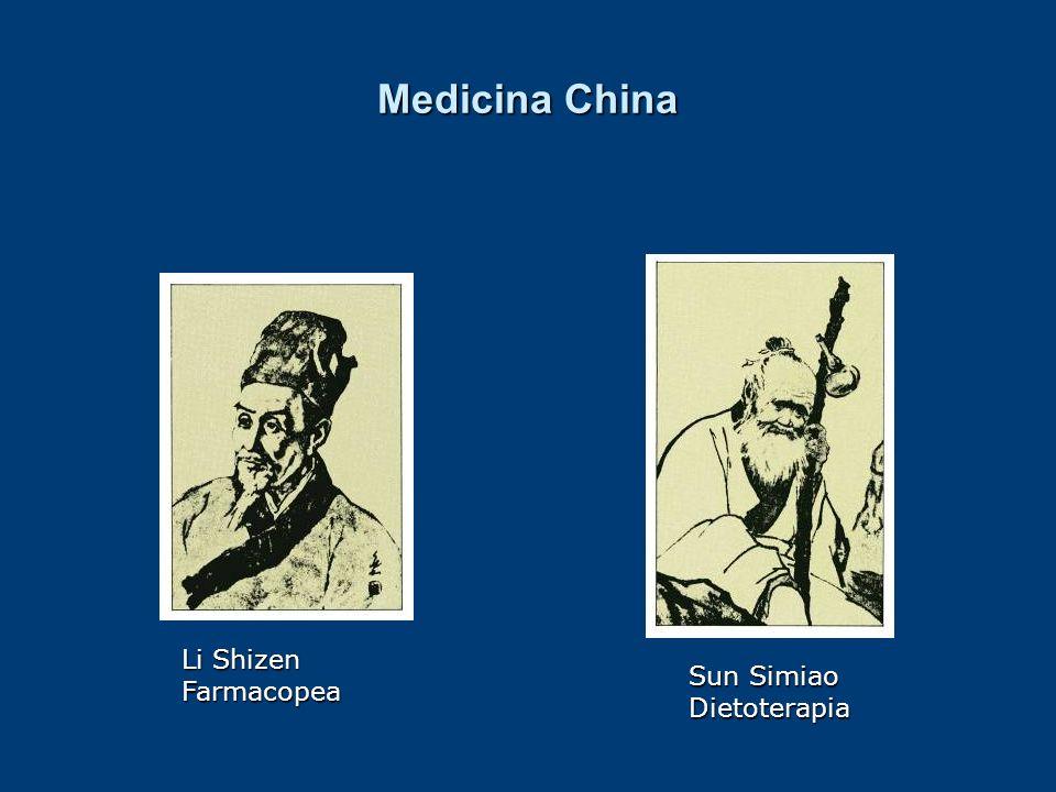 Medicina China Li Shizen Farmacopea Sun Simiao Dietoterapia