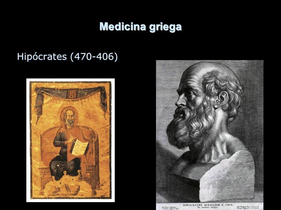 Medicina griega Hipócrates (470-406)