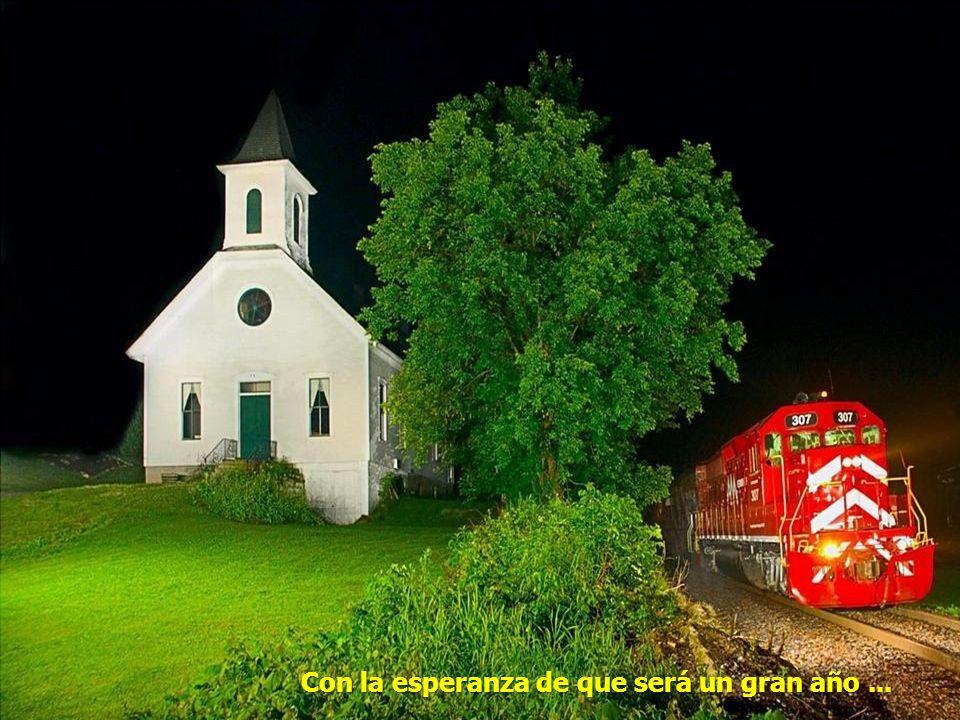 Vamos en el viaje a la navidad y al Año Nuevo 2013!