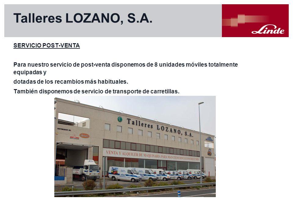Linde Material Handling Talleres LOZANO, S.A.