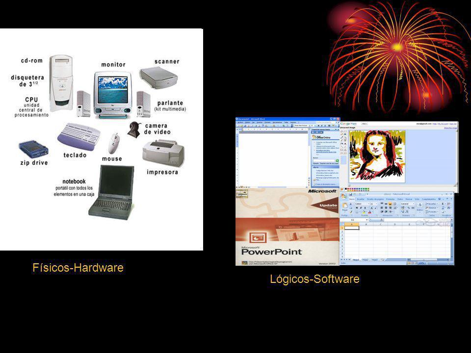 Físicos-Hardware Lógicos-Software