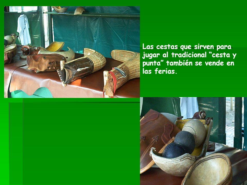 En Euskal Herria la madera también se utiliza para fabricar cadenas, utensilios, y elementos decorativos.
