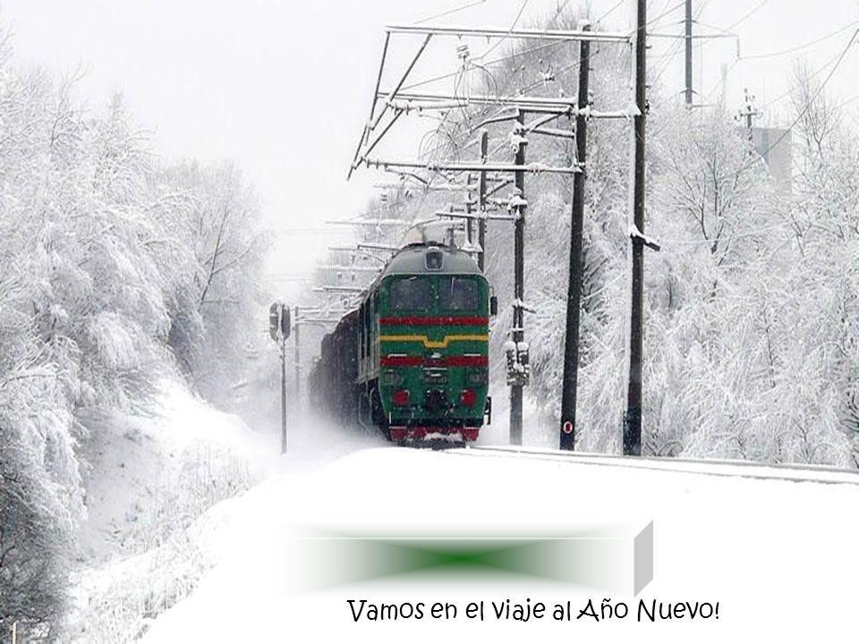 Vamos en el viaje al Año Nuevo!