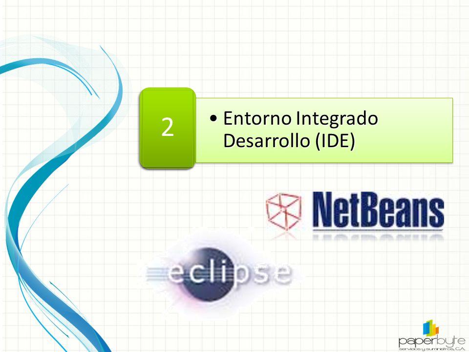 Entorno Integrado Desarrollo (IDE)Entorno Integrado Desarrollo (IDE)