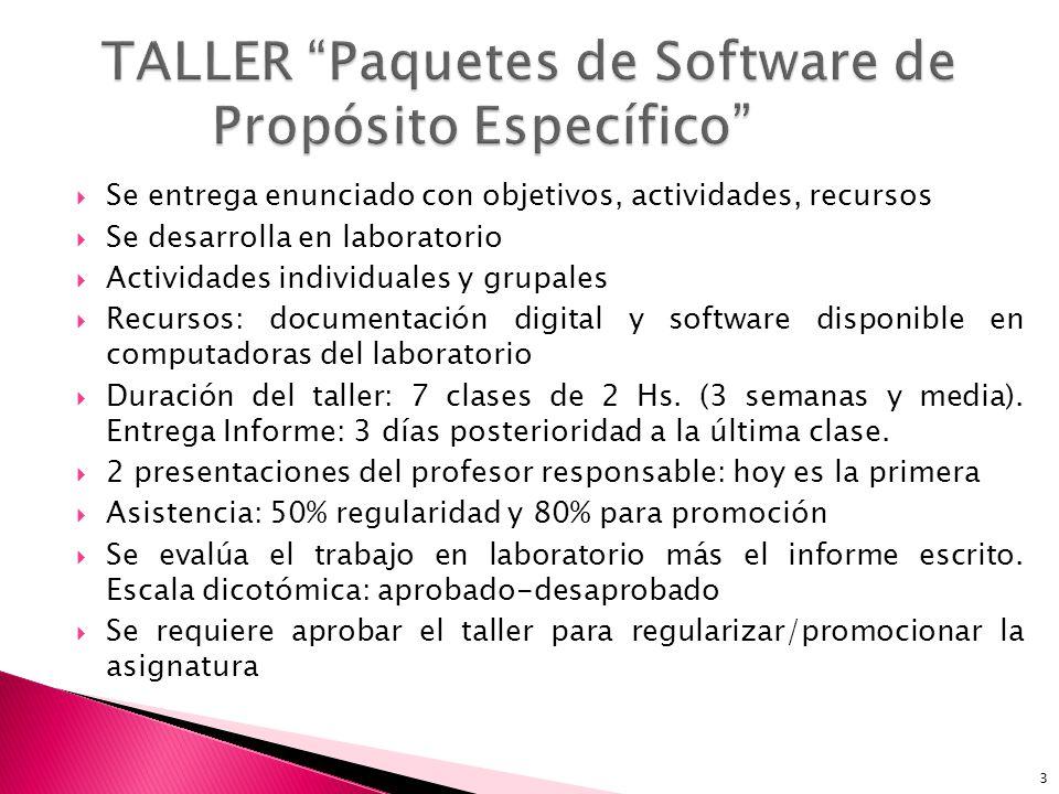 Software: concepto y tipos Paquetes de software Tipos de paquetes de software 4 software: componentes intangibles de una computadora.