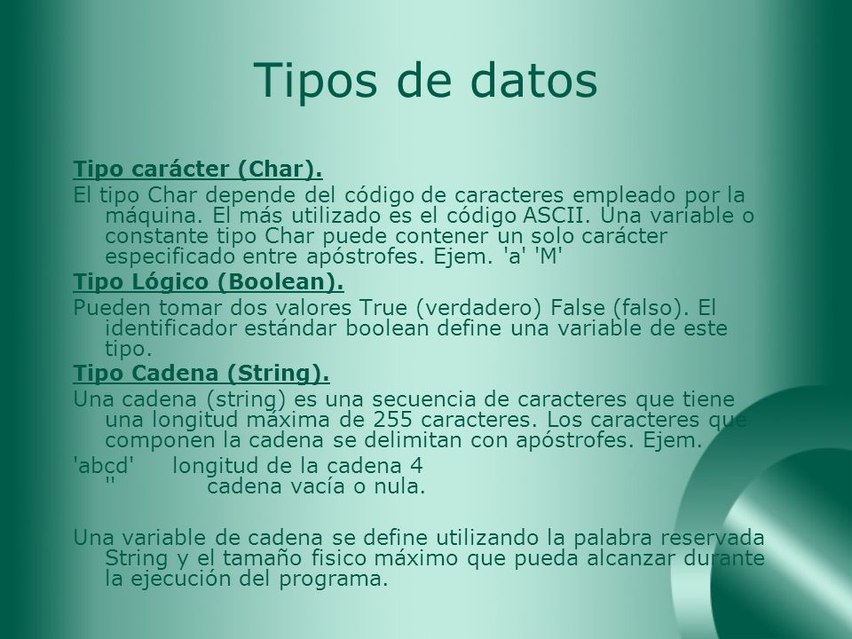 Programa Program Hola; begin writeln( Hola Mundo ); end.