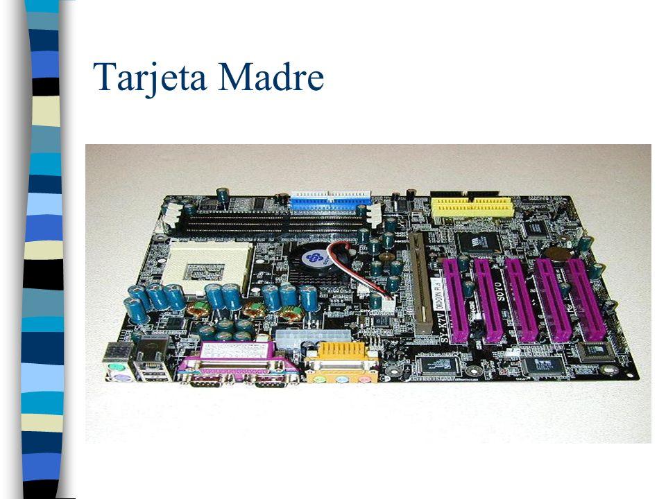 Tarjeta de Video Una tarjeta gráfica o tarjeta de vídeo es una tarjeta de circuito impreso cuya función es transformar las señales que llegan desde el microprocesador en señales entendibles y que se pueda mostrar en la pantalla de la PC.microprocesador.