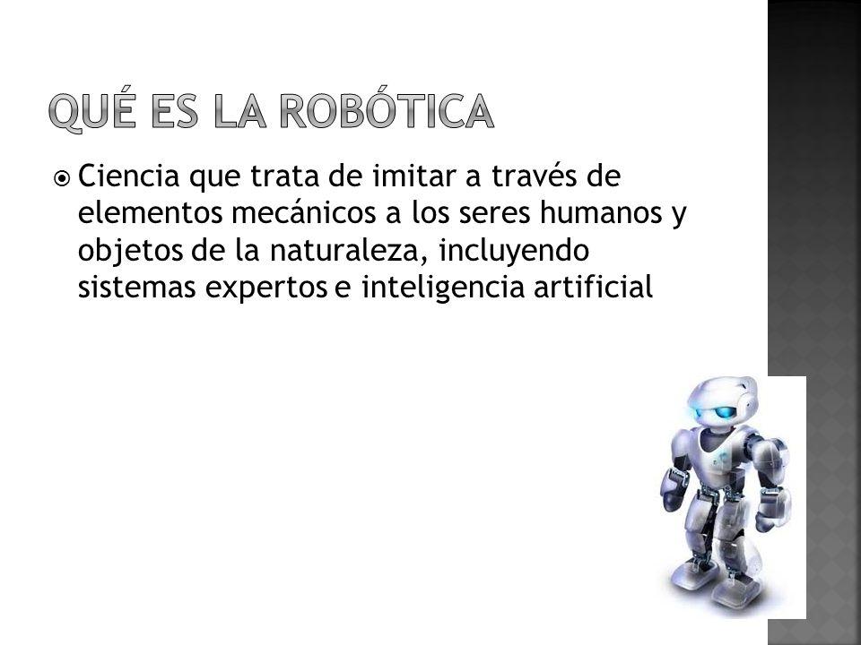 Robot 80`sRobot Actualidad Con el empleo de visión de máquina el sistema era capaz de captar piezas en orientaciones aleatorias y posiciones fuera de un recipiente.