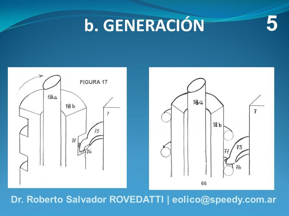 b. GENERACIÓN 5 Dr. Roberto Salvador ROVEDATTI | eolico@speedy.com.ar