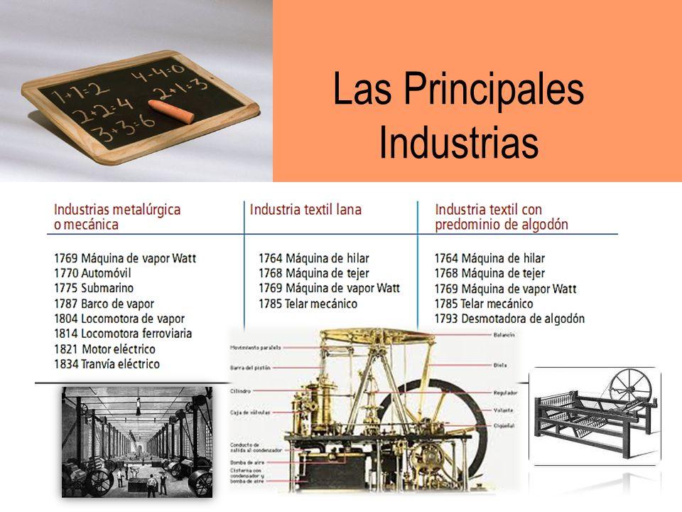 Los orígenes Hasta finales del siglo XVIII, la economía mundial dependía, principalmente, de la agricultura y el comercio. En los inicios de aquel sig